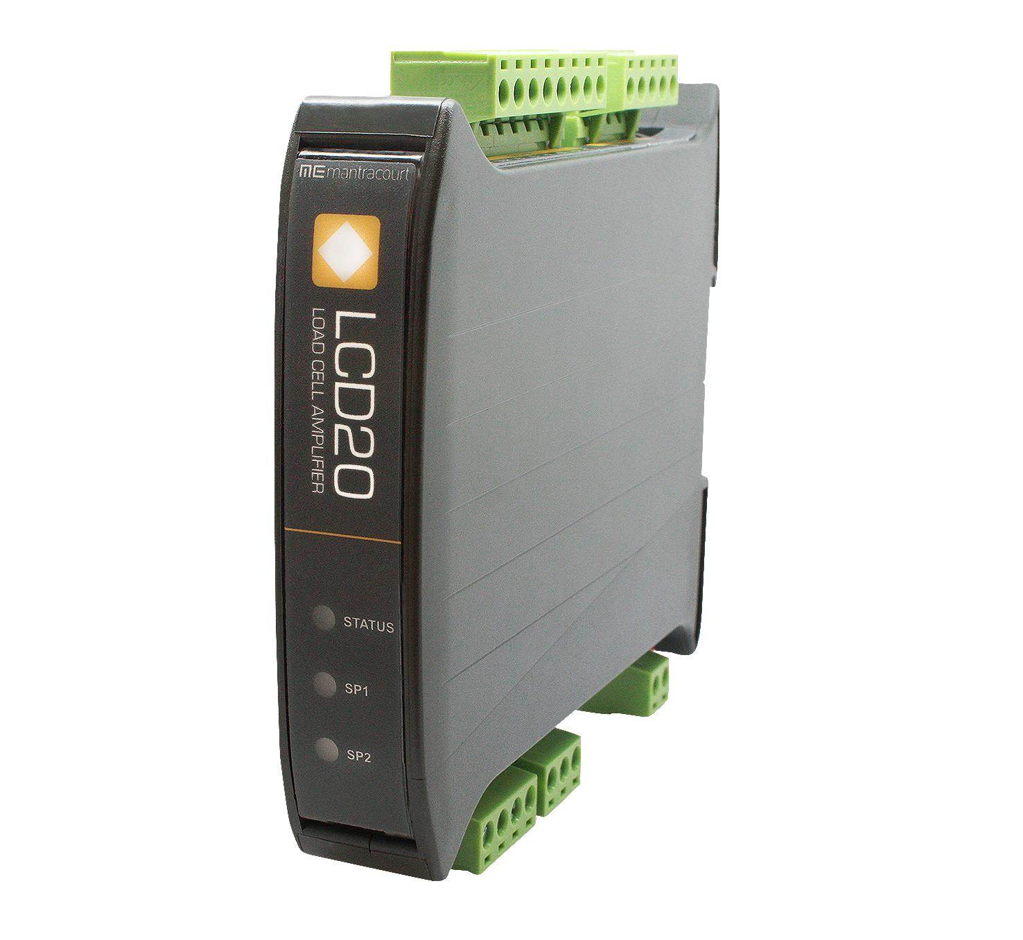 Load Cell Signal Amplifier Strain Gauge Bridge Din Measurement Circuit Lcd20frontview Highres Tmedit